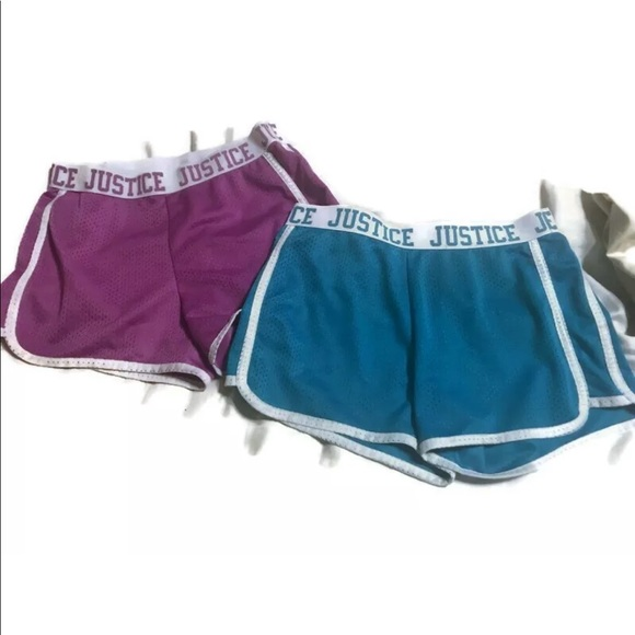 Justice Other - Justice Girls Size 12 Mesh Athletic Shorts
